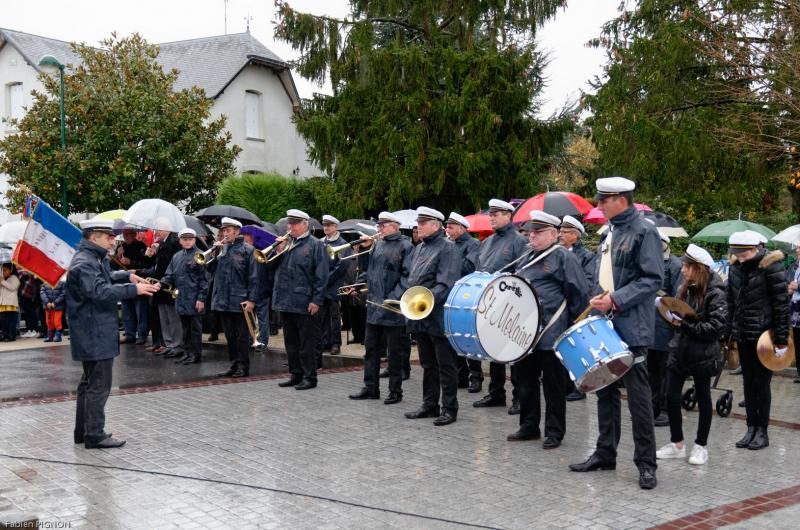 Commémoration du 11 novembre - Mouzeil 2008-9